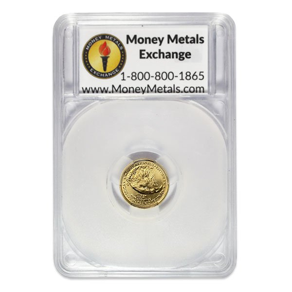 1/10th Oz Gold American Eagle - IN MERRY CHRISTMAS CAPSULE thumbnail