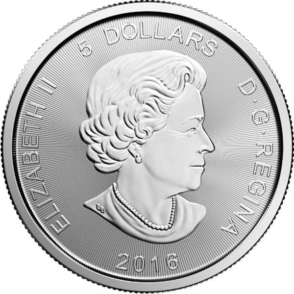 1 Oz Canadian Silver Cougar Coin thumbnail