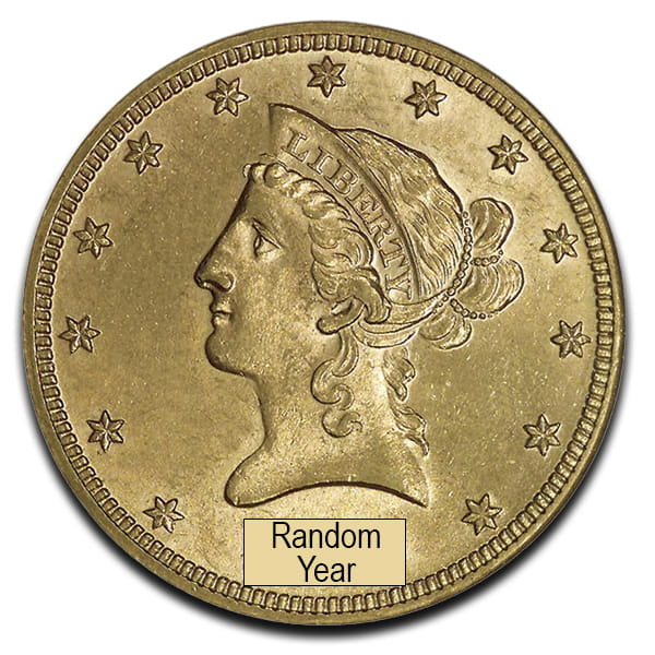 Buy U S Liberty 10 Dollar Gold Coins Online Money Metals 174