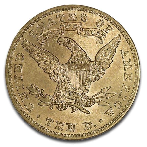 $10 U.S. Liberty Gold Coins thumbnail