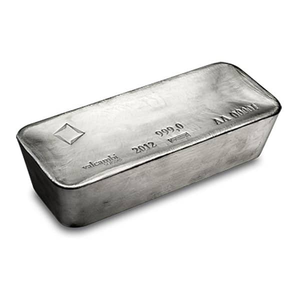 Silver Bar (1,000 Oz) Comex Approved thumbnail