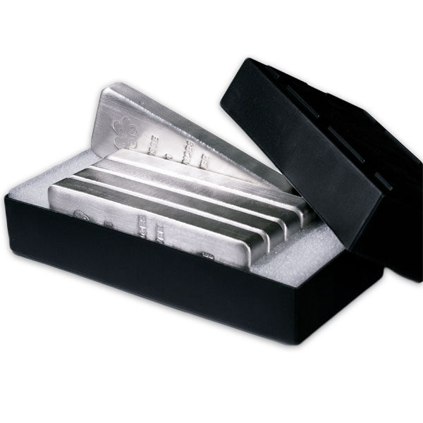 PAMP Suisse 100 Ounce Bar, .999 Pure Silver thumbnail