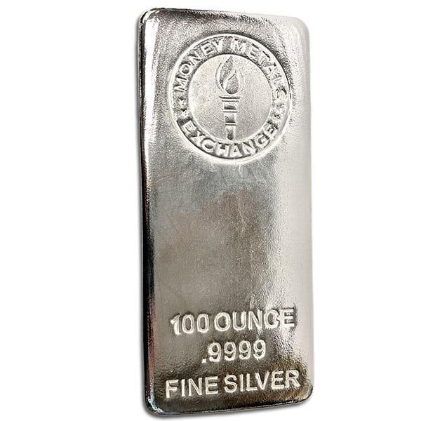 100 Oz Silver Bar (Design Our Choice) thumbnail