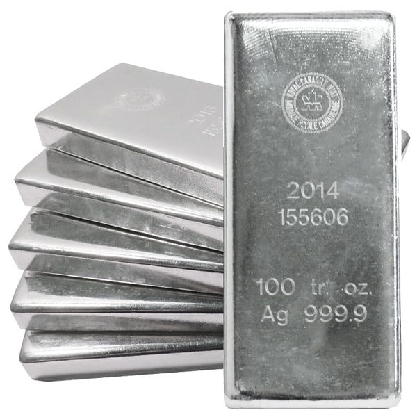 100 Oz Silver Bar Low Silver Bar Prices Money Metals 174