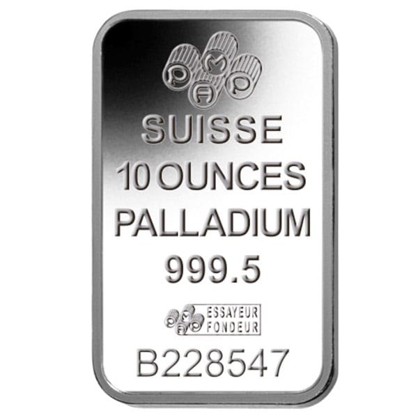 10 Oz Palladium Bars thumbnail