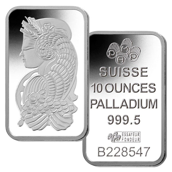 Buy 10 Oz Palladium Bars Online Credit Suisse Palladium