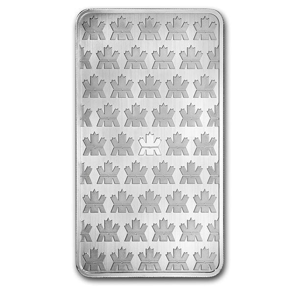Royal Canadian Mint Silver Bar - 10 oz .9999 Silver thumbnail