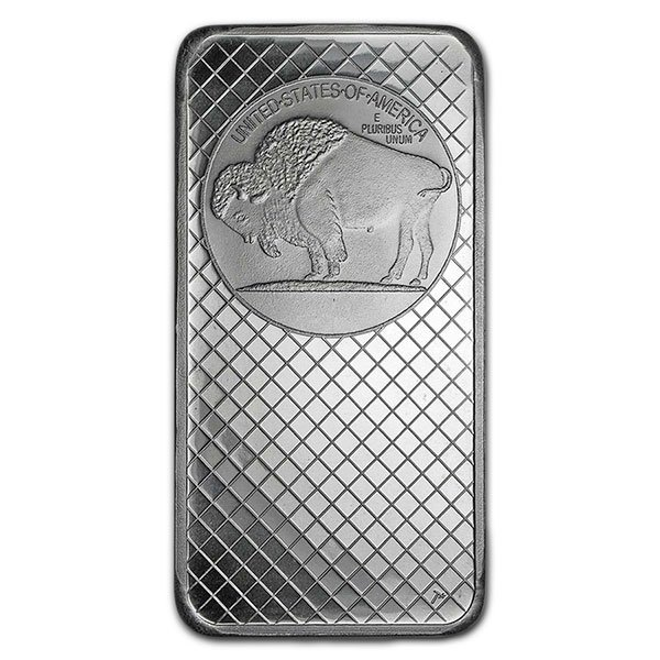 Buffalo Design Silver Bar - 10 Ounce .999 Pure thumbnail
