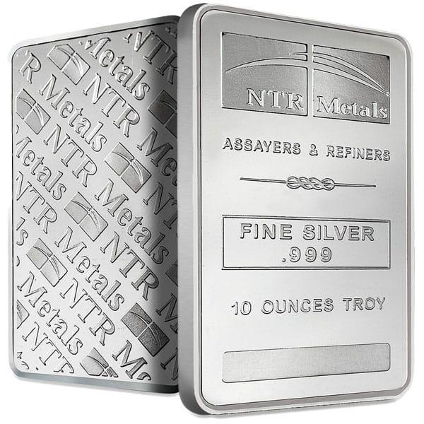 10 Oz Silver Bars thumbnail