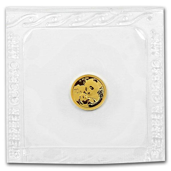 Chinese Panda Gold - 1 Gram, .999 Purity thumbnail