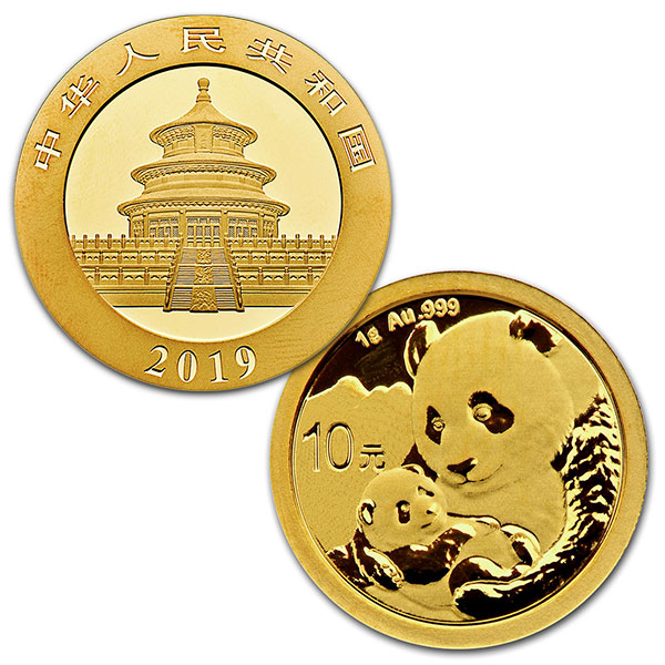 Chinese Panda Gold - 1 Gram, .999 Purity thumbnail