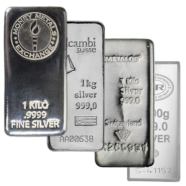 1 Kilo Silver Bars For At Low