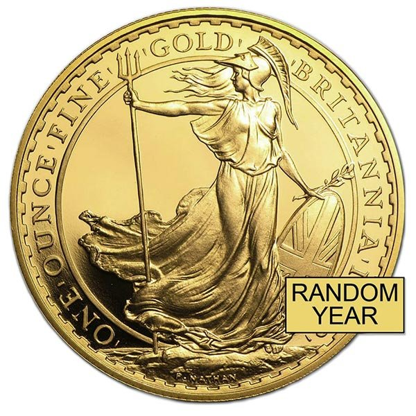 British Britannia - 1 Troy Oz, .999 Pure Gold