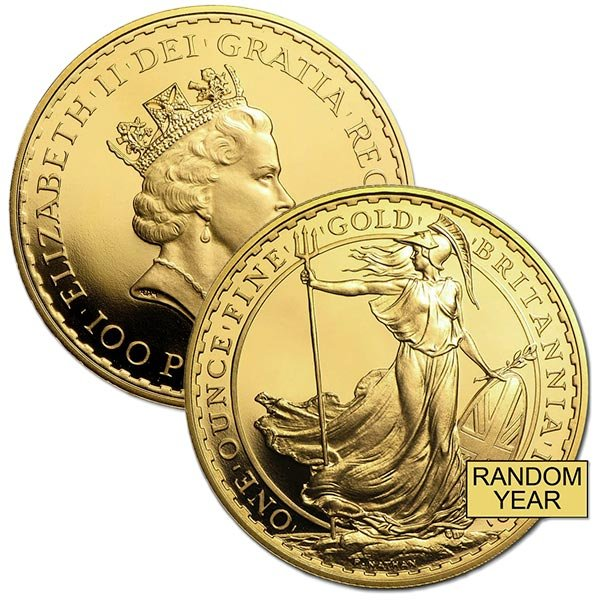 British Britannia - 1 Troy Oz, .999 Pure Gold thumbnail