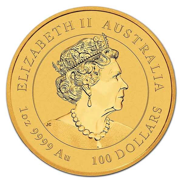 Perth Mint Lunar Series - 2022 Year of the Tiger, 1 Oz .9999 Gold thumbnail