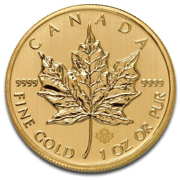 Canadian Maple Leaf Gold Coins 1 Oz