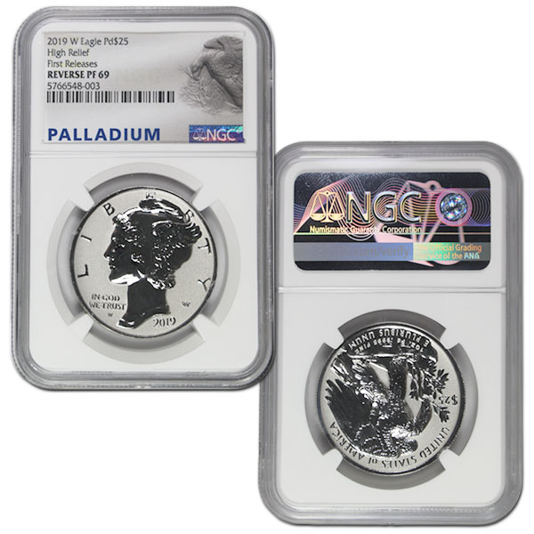 Palladium American Eagle, 1 Oz., .9995 Pure thumbnail