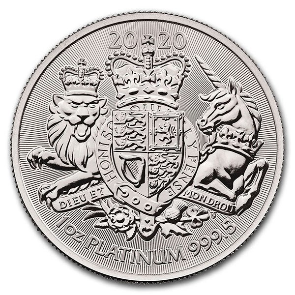 Platinum Coin, 1 Troy Ounce thumbnail
