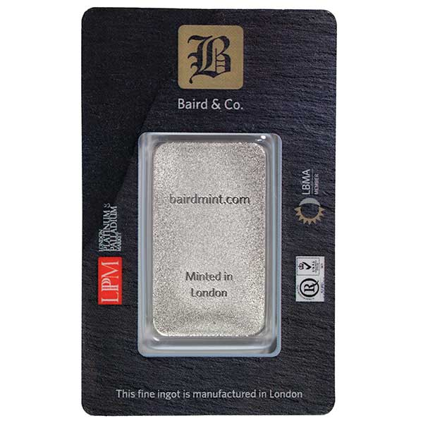 1 Oz Rhodium Bars thumbnail