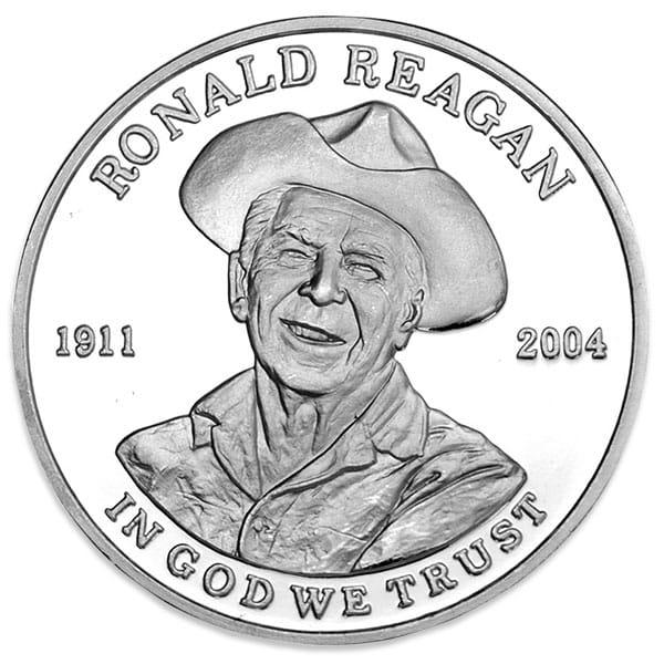 Ronald Reagan - .999 Pure Silver 1 oz Round