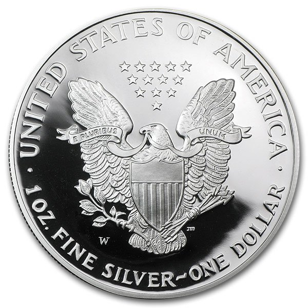 American Silver Eagle Proof Coins - 1 Troy Oz .999 Pure thumbnail
