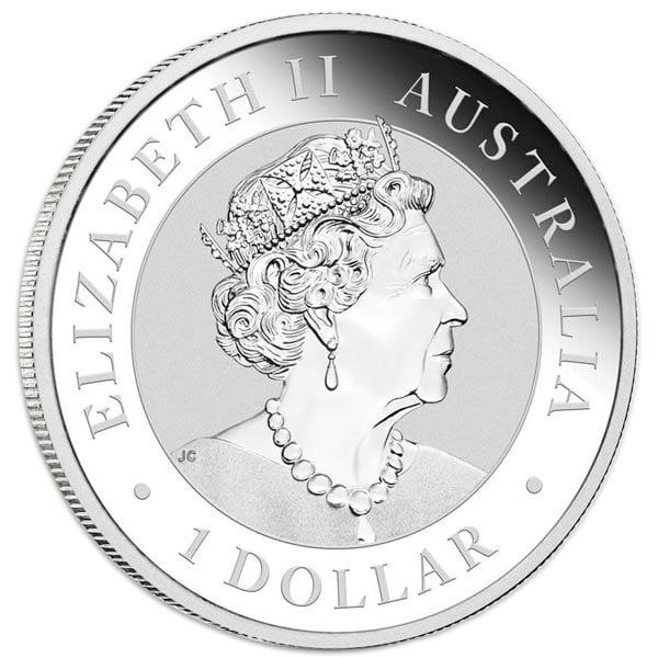 Koala - Perth Mint 1 Oz .999 Silver, RANDOM Date thumbnail
