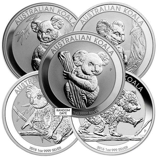 Koala - Perth Mint 1 Oz Pure Silver