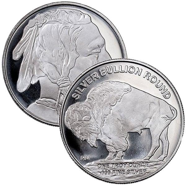 1 Oz Silver Buffalo Round thumbnail