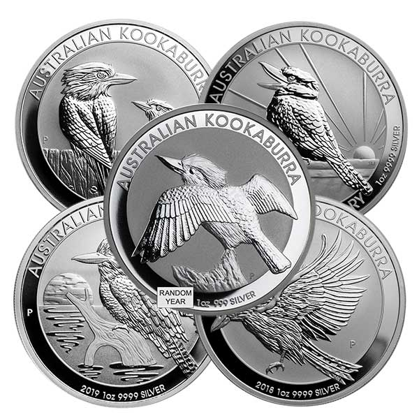 Kookaburra - Perth Mint 1 Oz .9999 Fine Silver