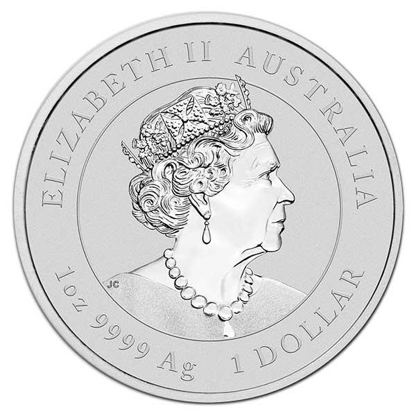 Lunar Ox - Perth Mint 1 Oz .9999 Fine Silver thumbnail