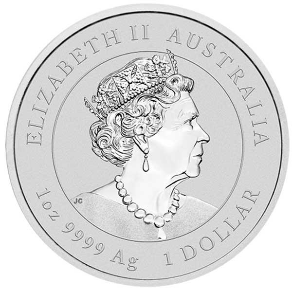 Perth Mint Lunar Series - 2022 Year of the Tiger, 1 Oz .9999 Silver thumbnail