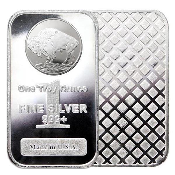 1 Oz Silver Bars (Design Our Choice) thumbnail