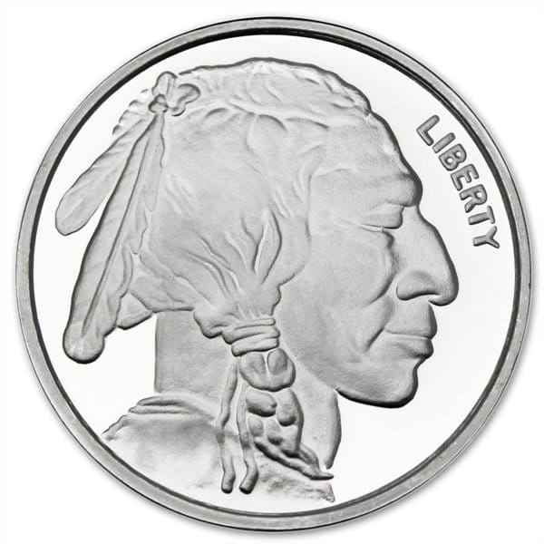 Buffalo Silver Round - 1 troy ounce, .999 pure