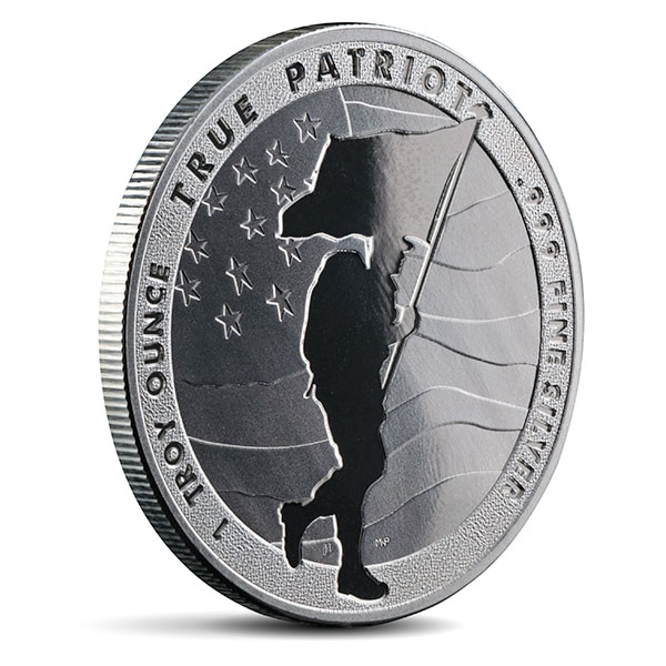 True Patriot - 1 Oz Pure Silver Round thumbnail