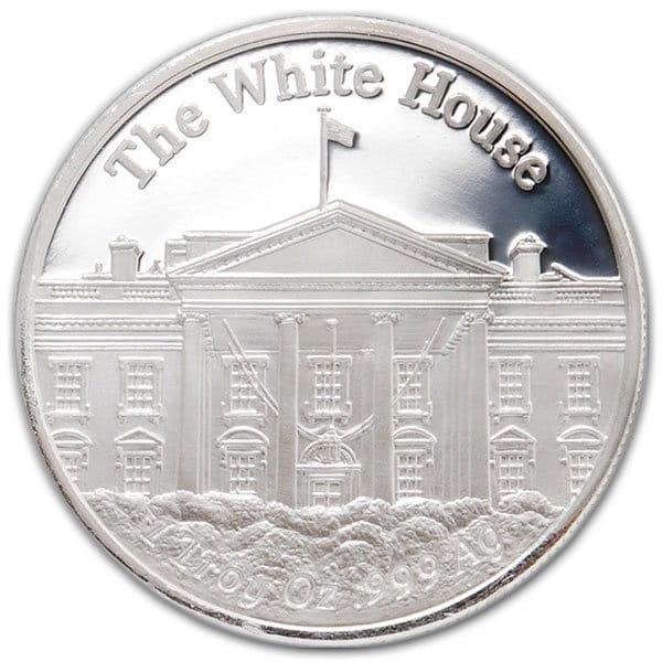President Trump - .999 Pure Silver 1 Oz Round thumbnail
