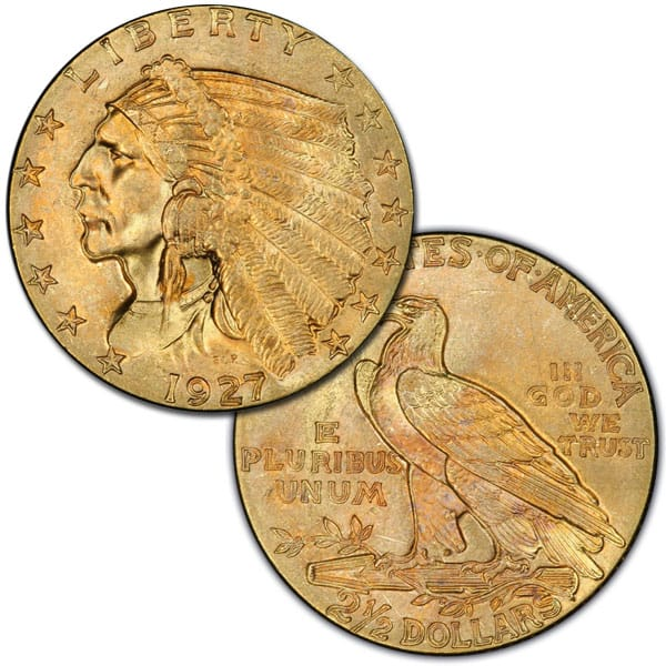$2.50 Indian Head - .1209 Troy Ounce Gold Content thumbnail