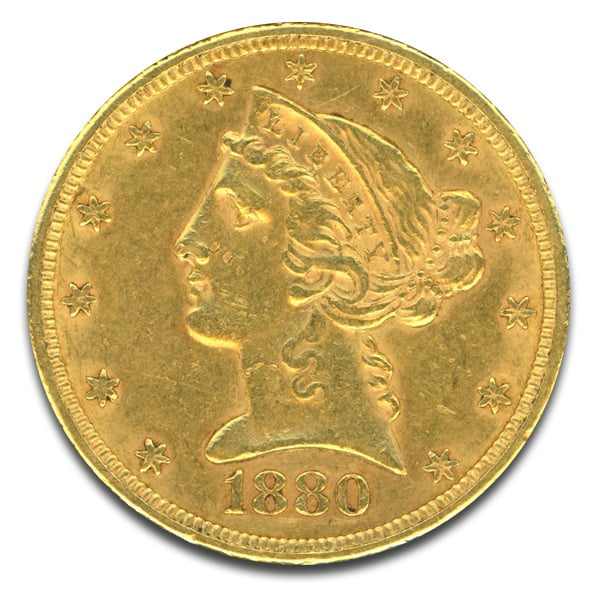 Liberty Head 5 Dollar Gold Coins
