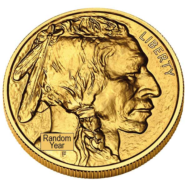 1 Oz American Gold Buffalo Coins