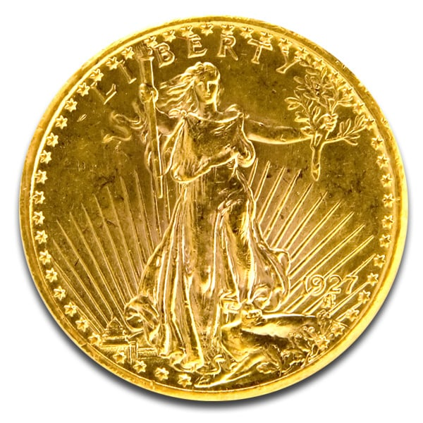$20 Saint Gaudens Pre-1933 Double Eagle Coins thumbnail