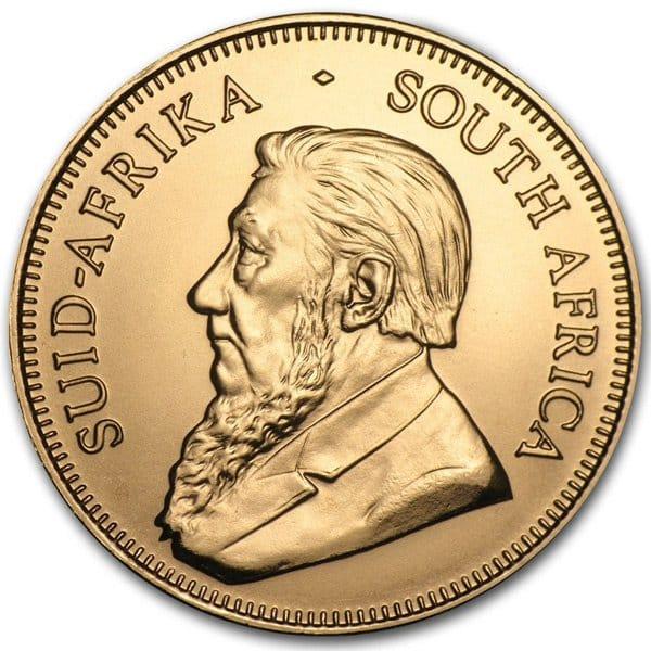 1/10 Oz Krugerrand, 22K Gold thumbnail