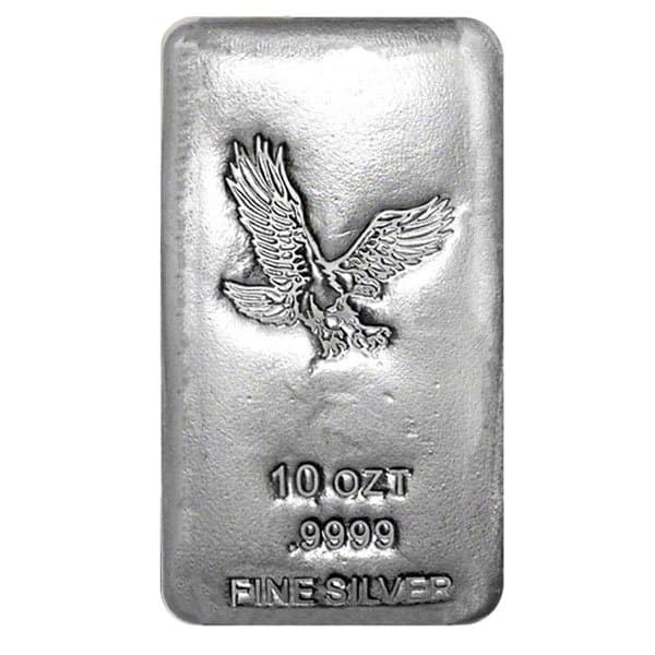 10 oz Silver Bars (Design Our Choice) thumbnail