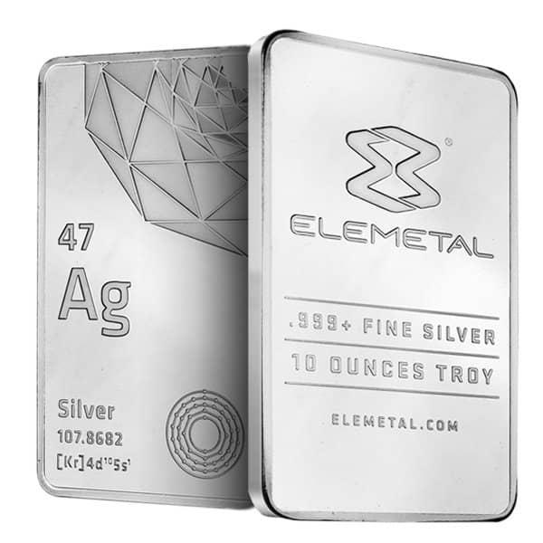 10 Oz Silver Bar Silver Bars For Sale Money Metals 174