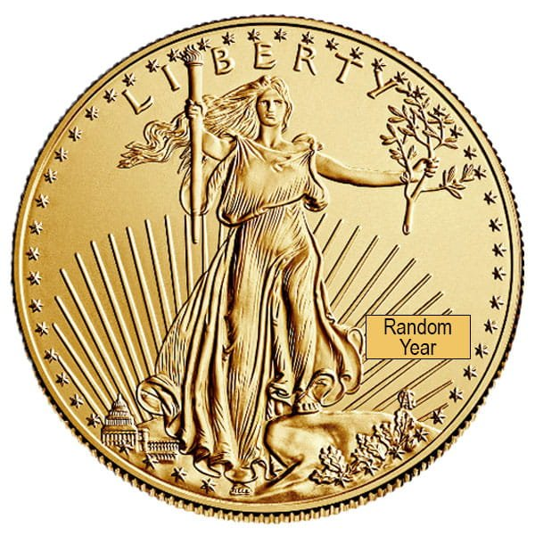 1 4 Oz American Gold Eagle Coins