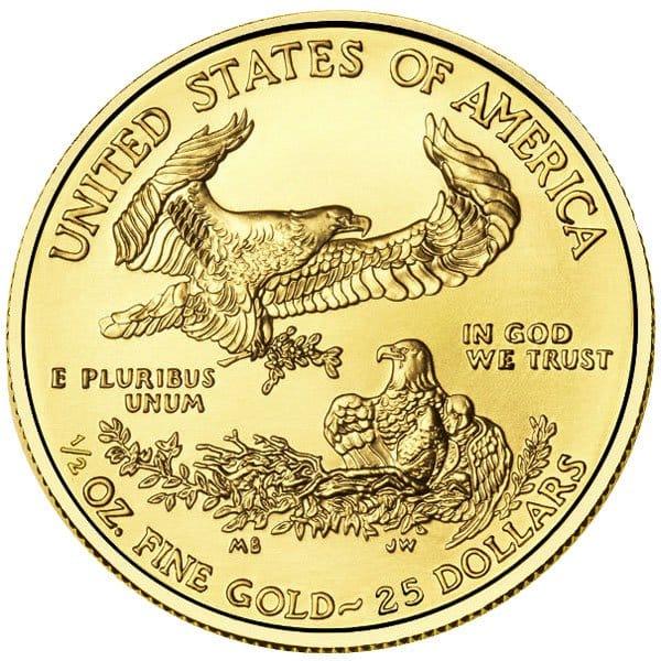 1/2 Oz American Gold Eagle Coins thumbnail