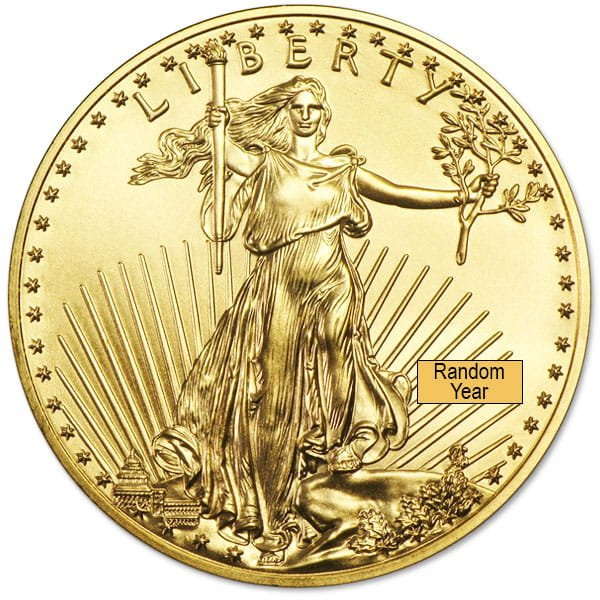 1/10 Oz American Gold Eagle Coins