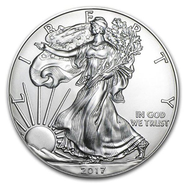 2017 Silver American Eagle - 1 Troy Ounce, .999 Pure