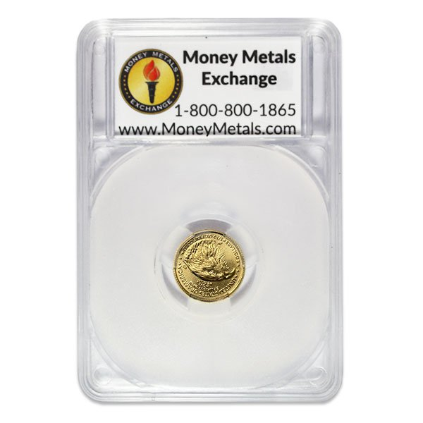 1/10th Oz Gold American Eagle - IN HAPPY BIRTHDAY CAPSULE thumbnail