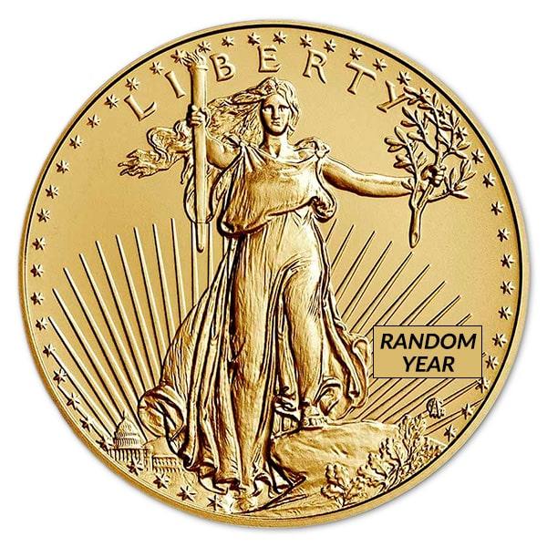 1/2 Oz American Gold Eagle Coin - 2021 Type 2 thumbnail