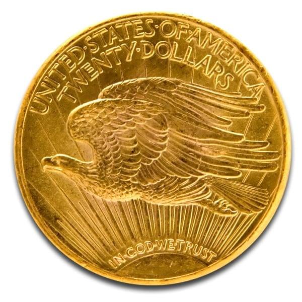 $20 Saint Gaudens Pre-1933 Double Eagle Coin thumbnail