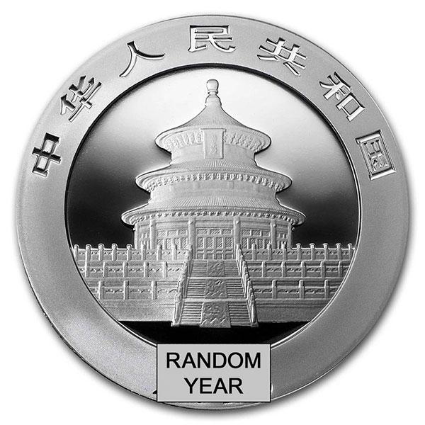 Chinese Silver Panda, 30 Grams .999 Pure thumbnail